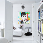 4.interior-best-interior-design-white-walls-home-apartment-long-wall-decorating-ideas-with-two-white-door-that-connects-the-living-room-equipped-with-a-sofa-white-and-black-fur-rug-also-a-face-painting