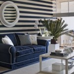 7.marine-theme-dark-blue-white-stripes-on-the-wall
